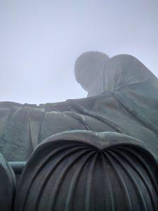 Less foggy Buddha!