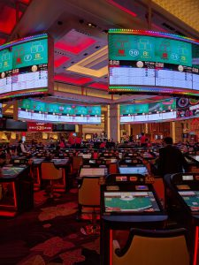 The Size, Tech and Games in the casino were like another world!